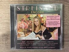 Barbra Streisand - Encore Movie Partners Sing Broadway (2016) Brand New & Sealed