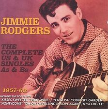 Jimmie Rodgers - Complete Us & UK Singles As & BS 1957-62 [New CD]
