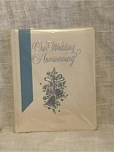 Vintage Hallmark Our Wedding Anniversary Album Keepsake Photo New Old Stock