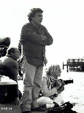 "Original Photo on set ""Jaws 2"" director Jeannot Szwarc & photographer Susan Ford"