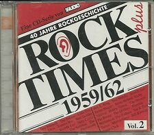 Audio Rock Times Plus Vol. 02 1959-1962 CD Various Audiophile