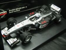 WOW EXTREMELY RARE McLaren MP4/16 Coulthard British GP 2001 1:18 Minichamps