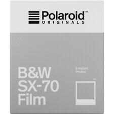 Polaroid Originals Black & White Instant Film for Polaroid SX-70 Cameras 4677
