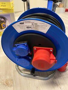 """HEDI Kunststoff-Drehstromkabeltrommel """"Professional"""", 33m H07RN-F5G1,5 K2YD3316T"""