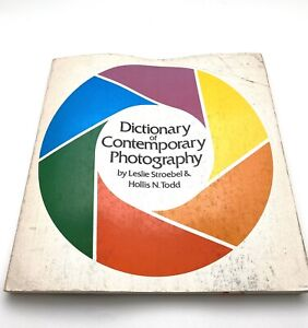 DICTIONARY OF CONTEMPORARY PHOTOGRAPHY (1977 Paperback, Second Printing)