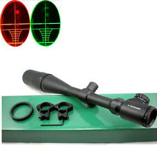 Military Standard Hunting Scope 8-32x50 AOEG Rifle Scope W/ Rings & Sunshade