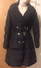 VERSACE COLLECTION Black Padded Long Sleeves Coat Size UK10/ IT42 RRP £1295