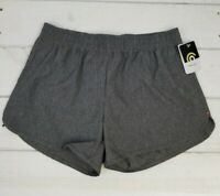 Champion Grey Workout Shorts with Drawstring Hidden Pocket Womens Size S Small