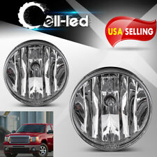 for 2007-2013 GMC Sierra 1500 2500 HD 3500 HD Clear Bumper Fog Lights Lamps PAIR