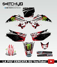 KIT ADESIVI GRAFICHE ROCK CAMO HONDA CR 125 250 2002 DECALS DEKOR