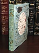 THE SECRET GARDEN by FRANCES HODGSON BURNETT Illustrated, Leather & Brand New!