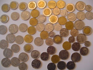 Lot of  68 Mixed Coins ITALY Pre-Euro 50, 100, 200, 500 Lire
