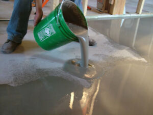 Floor Leveller - High strength Industrial pourable self Levelling compound 25kg