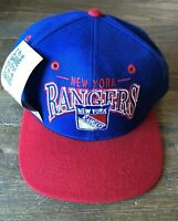 NWT Vintage The Game Adjustable Fit New York Rangers Hockey NHL Blue Cap Hat