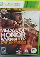 Medal of Honor Warfighter Limited Edition Shooter Global Warfighter XBox 360