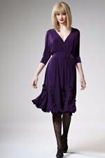 Leona Edmiston Regular Size Solid Dresses for Women