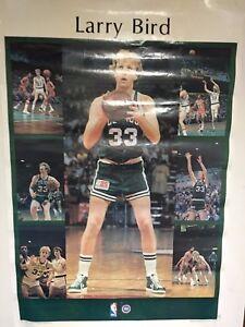 "Vintage 1980 Starline Larry Bird Rookie Year Poster Boston Celtics 22"" x 25"""