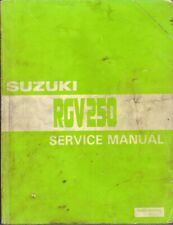 SUZUKI RGV250 K,L,M,N,P,VJ21,VJ22 1989-1993 FACTORY WORKSHOP MANUAL