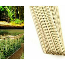200 x 40cm Bamboo Wooden Plant Sticks Garden Plants Support Canes Flower Canes