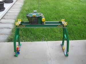 Lego Containerkran für Eisenbahn