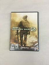 Call of Duty Modern Warfare 2 PC Video Game Rated M Shooter 2009 TESTED