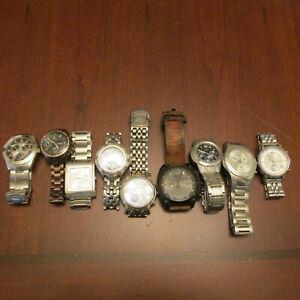 Men's Watch Lot Citizen,Diesel,Fossil, Guess Chronographs