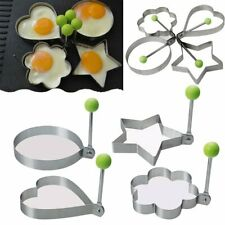 Stainless Steel Egg Shape Mold Pancake Omelette Molds Non Stick Kitchen Tools