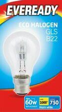 5 x 48w (60w) Ampoule halogène GLS B22 BC culot à baionnette (Eveready S10134)