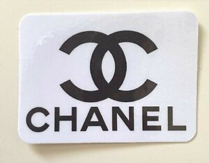 Chanel sticker (2pack)- Logo