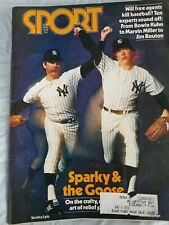 New York Yankees; Sparky and Goose, Sport Magazine 1978