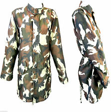 Unbranded Camouflage Polyester Coats & Jackets for Women