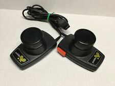 Atari 2600 Video Game Pair Of Original Paddles Tested Jitter Free