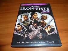 The Man With the Iron Fists (DVD 2013 Widescreen Unrated) Quentin Tarantino Used