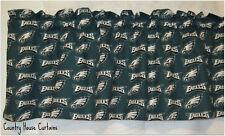 "NFL Football Philadelphia Eagles Handmade Window Curtain Valance 56"" W x 13"" L"
