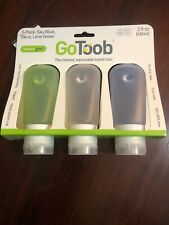 GoToob 3-Pack 2 Oz Squeezable Travel Tube