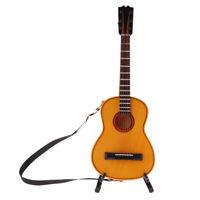 Red washburn Guitare /& dur cas 1.12 échelle miniature Salon de musique