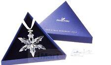 Swarovski Editions 2015 Christmas Crystal Ornament  Large Snowflake Star