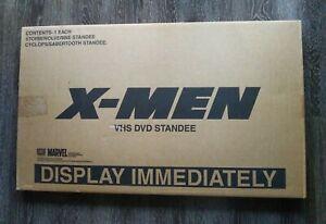 MARVEL X-Men 2000 Video Store Display Storm Wolverine Cyclops Sabretooth Standee