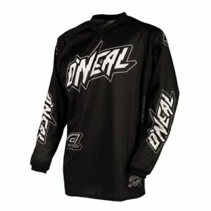 O'neal Threat MX Motocross Cycling Men's Jersey Long Sleeve Black Size L