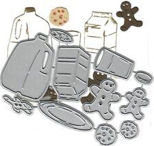 Dies...to die for metal cutting craft die Milk and Cookies - Gingerbread Ch chip