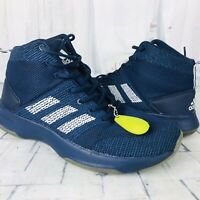 adidas Neo Men's CF Executor Mid Basketball Shoes Navy Blue BB9902 Size 9.5