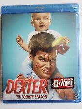 Dexter Season 4 Blu-ray NEW Michael C Hall Jennifer Carpenter John Lithgow
