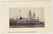 Franco British Exhibition, London 1908 postcard - Palace of British Art
