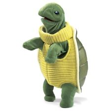 TURTLENECK TURTLE PUPPET # 2881 ~ Free Shipping in USA ~ Folkmanis Puppets