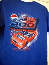 Vintage 2005 NASCAR Pepsi 400 T-shirt Size Medium - Tony Stewart Victory
