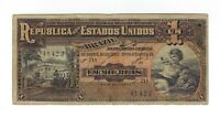 1 Mil Reis Brasilien 1918 R076 / P.5 - Brazil Banknote