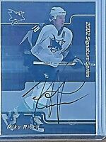 2002-03 In the Game Be A Player Signature Series 122 Mike Ricci Auto Autograph