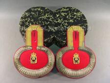 111667, Preußen Paar Epauletten eines Militärbeamten vermutlich Apotheker,