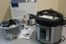 Insignia 6 Quart Multi Function Pressure Cooker ( Stainless Steel ) (Ob-P)
