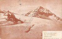 Cartolina - Postcard - Alpi - Montagna - Neve - Poesia - 1919 - Posta Militare